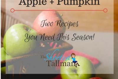 Fall = Apple + Pumpkin! www.theshortesttallman.com