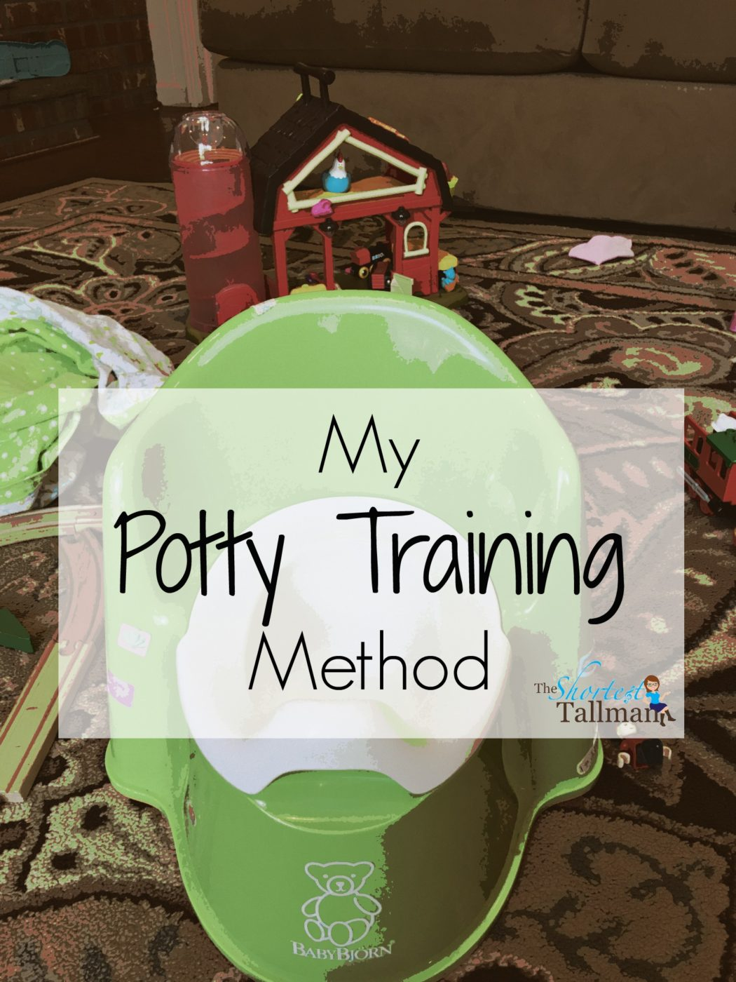 Easy Potty Training! www.theshortesttallman.com