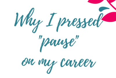 "Why I Pressed ""Pause"" On My Career- 6 months later! www.theshortesttallman.com"
