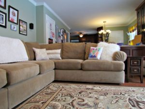 The Simple Trick To Sprucing Up Your Living Space! www.theshortestallman.com