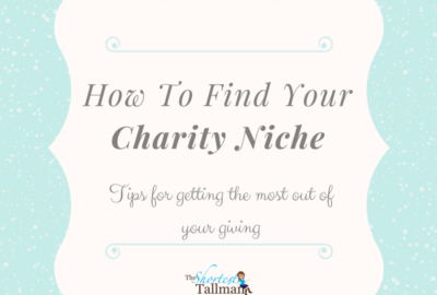 Finding Your Charity Niche! www.theshortesttallman.com
