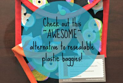 Awesome alternative to reusable plastic baggies! www.theshortesttallman.com