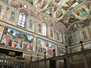 At the Sistine Chapel, so breathtaking! www.theshortesttallman.com